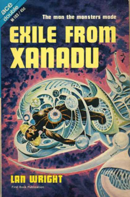 Ace Books - Exile From Xanadu / the Golden People - Lan Wright