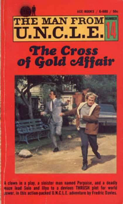 Ace Books - The Cross of Gold Affair : The Man From U.n.c.l.e. Fourteen - Fredric (pen Name