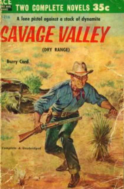 Ace Books - Savage Valley / Ridin' Through