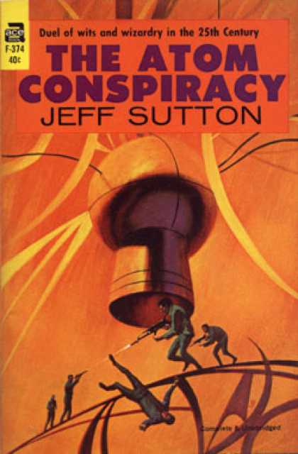 Ace Books - The atom conspiracy - Jeff Sutton