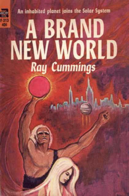 Ace Books - A Brand New World - Ray Cummings