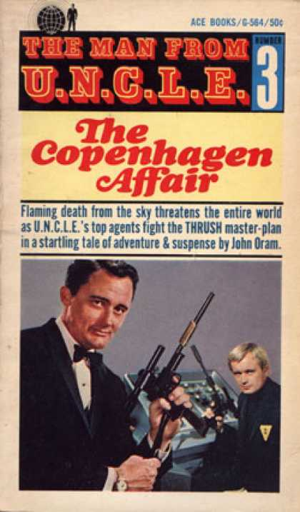 Ace Books - The Man From U.n.c.l.e. - John Oram