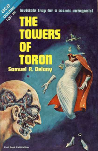Ace Books - The Towers of Toron / the Lunar Eye - Samuel R. Delany