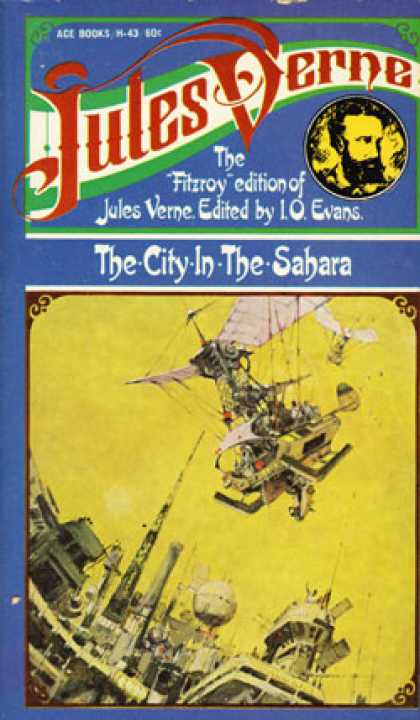 Ace Books - The City In the Sahara - Jules Verne