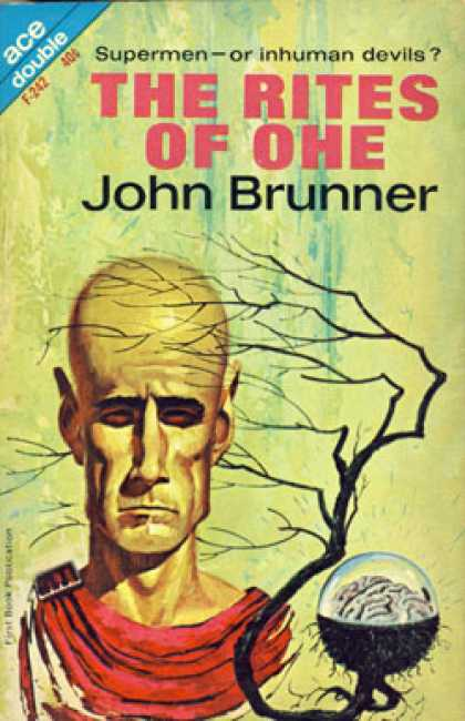 Ace Books - The Rites of Ohe/castaways World - John Brunner