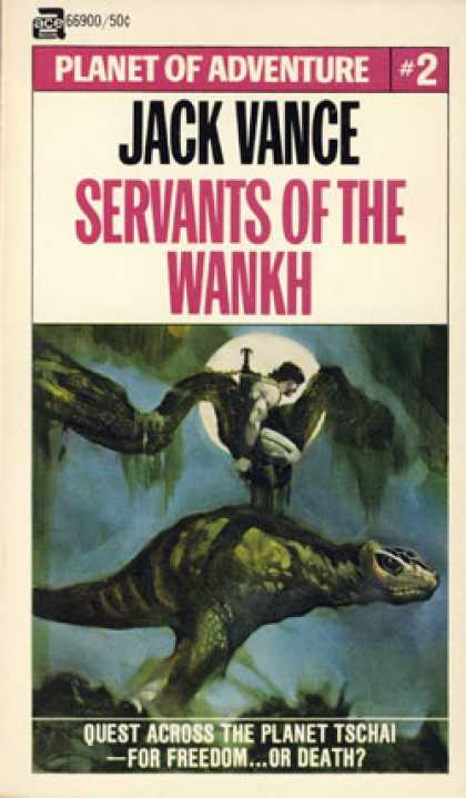 Ace Books - Servants of the Wankh: Planet of Adventure #2 - Jack Vance