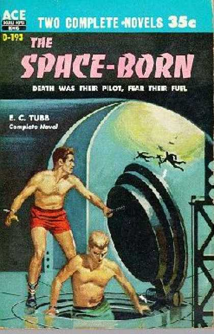 Ace Books - The Man Who Japed and the Space-born - E C Tubb