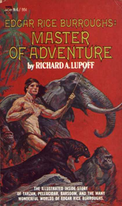 Ace Books - Edgar Rice Burroughs,: Master of Adventure - Richard a Lupoff