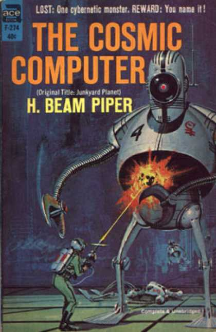 Ace Books - The Cosmic Computer - H. Beam Piper
