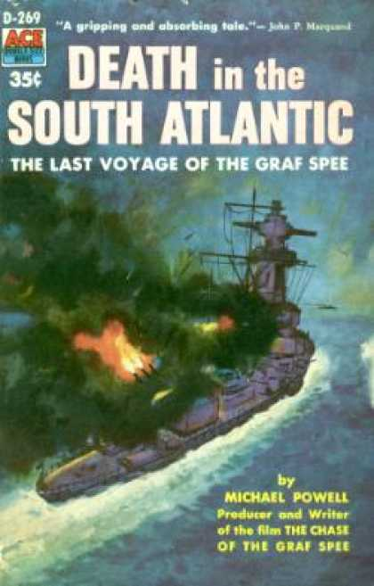 Ace Books - Death in the South Atlantic - Michael Powell