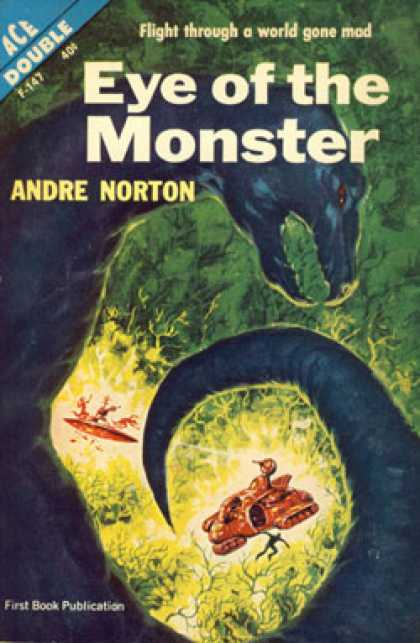 Ace Books - Eye of the Monster / Sea Siege - Andre Norton