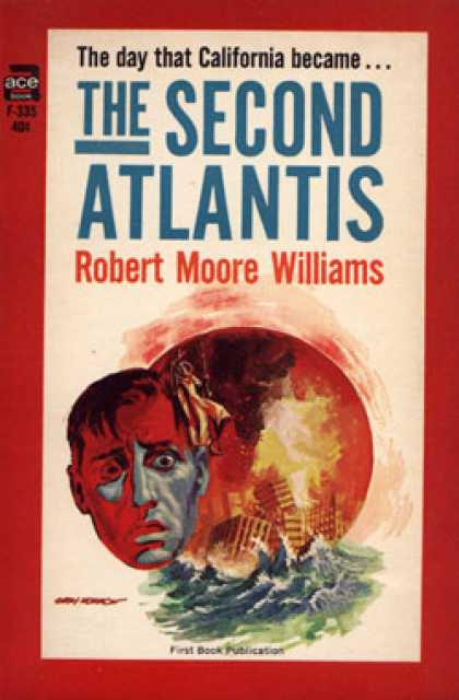 Ace Books - The Second Atlantis - Robert Moore Williams