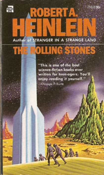Ace Books - The Rolling Stones - Robert A. Heinlein