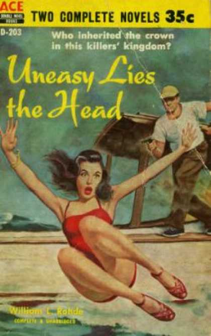 Ace Books - Uneasy Lies the Head