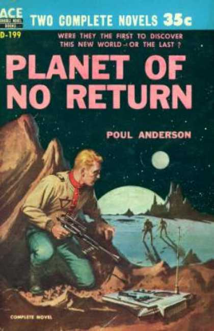 Ace Books - Star Guard and Planet of No Return Ace Double D-199 - Andre; Poul Anderson Norto