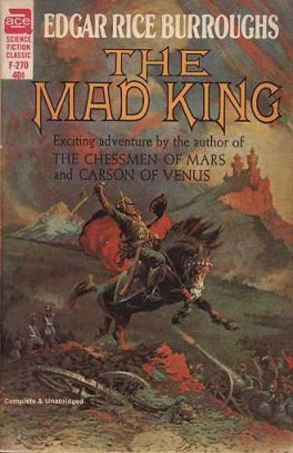 Ace Books - The Mad King - Edgar Rice Burroughs
