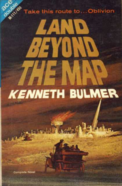 Ace Books - Land Beyond the Map / Fugitive of the Stars - Kenneth Bulmer