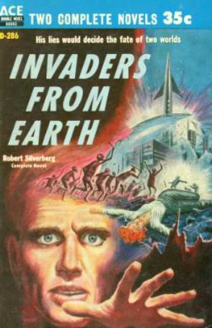 Ace Books - Invaders From Earth - Robert Silverberg