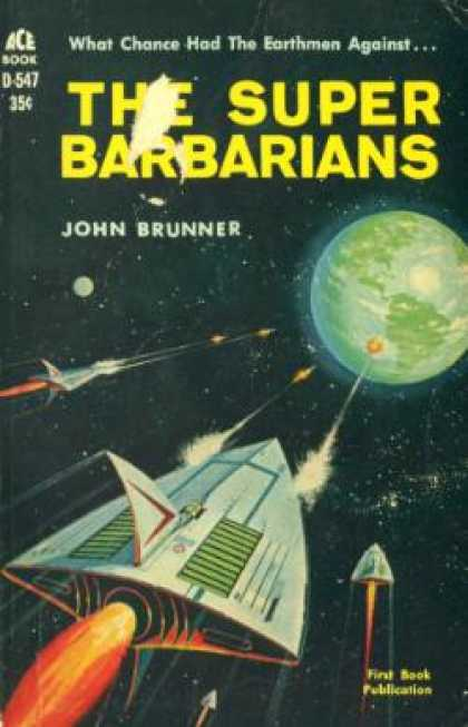 Ace Books - The Super Barbarians - John Brunner