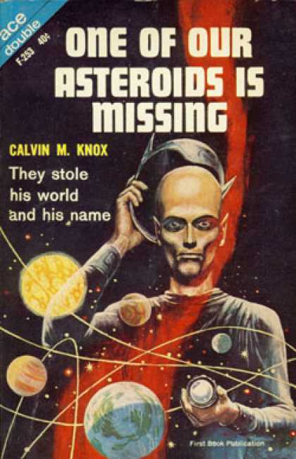 Ace Books - The Twisted Men / One of Our Asteroids Is Missing - Van E. / Knox, M. Calvin Vog