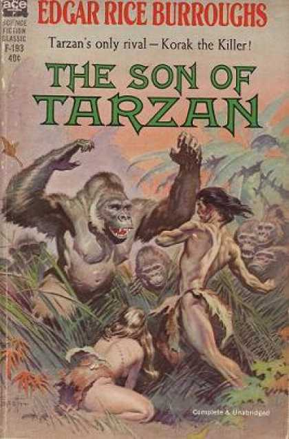Ace Books - The Son of Tarzan - Edgar Rice Burroughs