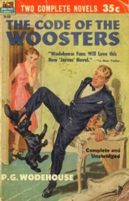 Ace Books - Quick Service and the Code of the Woosters - P.g. Wodehouse