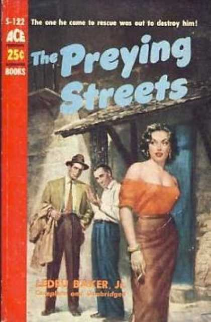 Ace Books - The Preying Streets