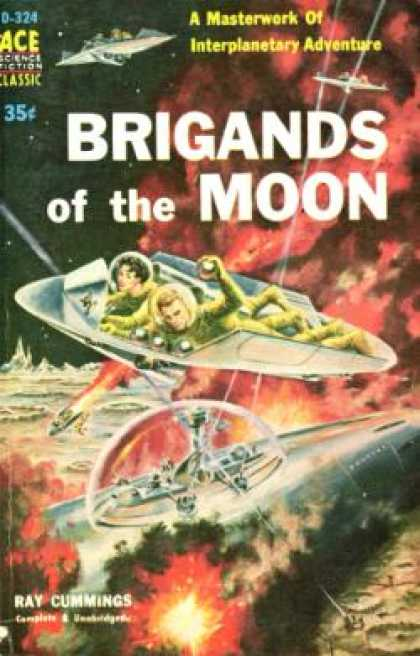 Ace Books - Brigands of the Moon - Ray Cummings