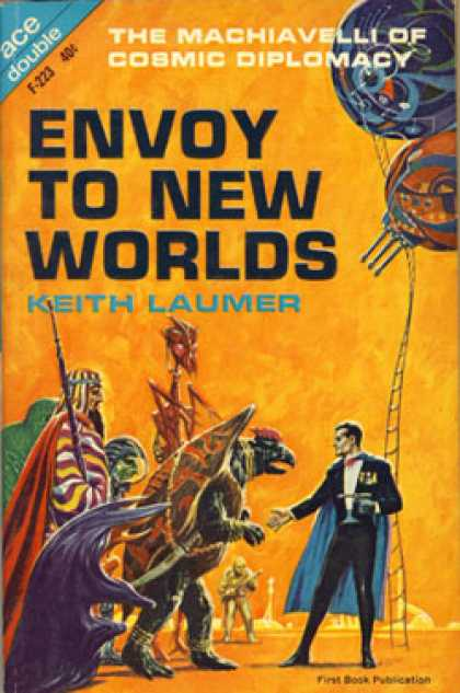 Ace Books - Envoy To New Worlds/flight From Yesterday