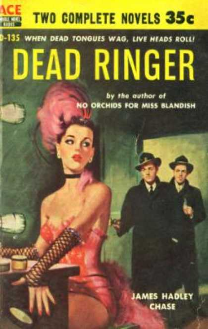 Ace Books - Dead Ringer / Maid for Murder - James Hadley Chase