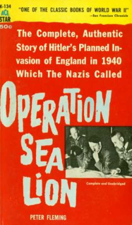 Ace Books - Operation Sea Lion - Peter Fleming