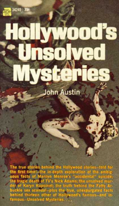 Ace Books - Hollywood's Unsolved Mysteries