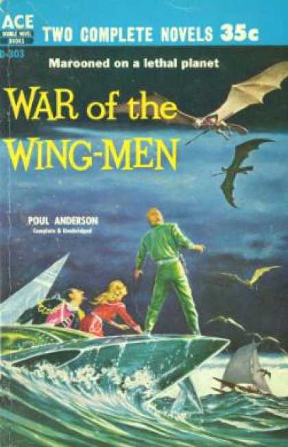 Ace Books - War of the Wing-Men - Paul Anderson