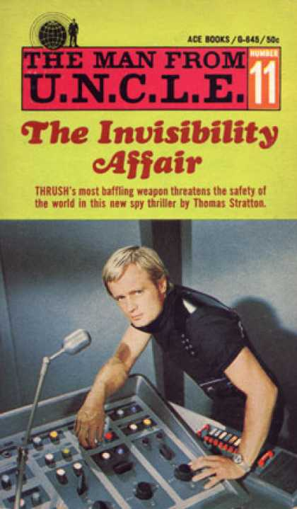Ace Books - The Invisibility Affair