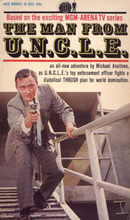 Ace Books - The Man From U.n.c.l.e. G-553 - Michael Avallone