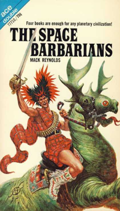 Ace Books - The Space Barbarians & the Eyes of Bolsk - Mackreynolds