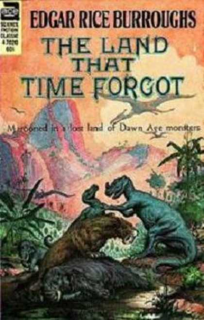 Ace Books - The Land That Time Forgot - Edgar Rice Burroughs