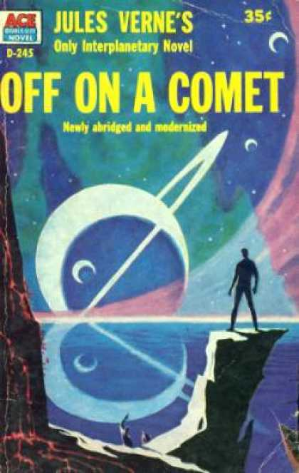 Ace Books - Off on a Comet - Jules Verne
