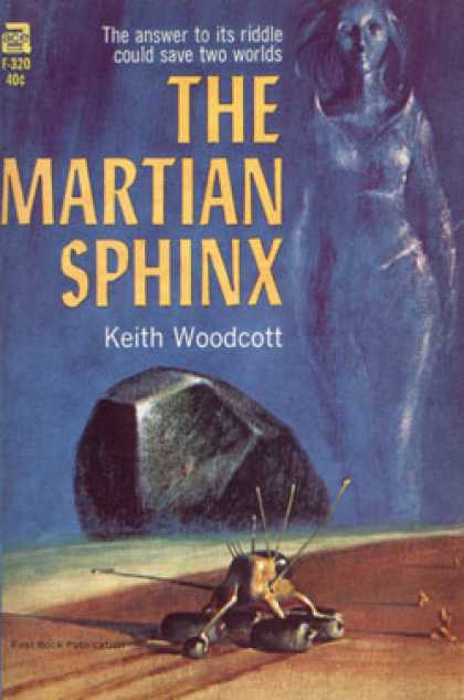 Ace Books - The Martian Sphinx - Keith Woodcott (pseud. John Brunner)