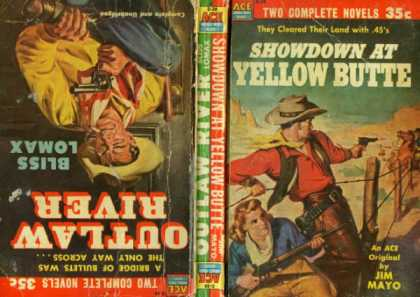Ace Books - Showdown at Yellow Butte