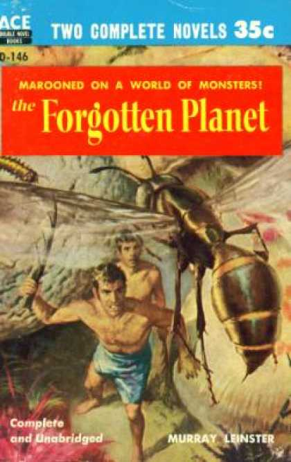 Ace Books - The Forgotten Planet - Murray Leinster