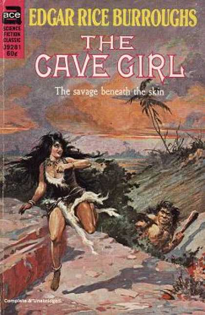 Ace Books - The Cave Girl - Edgar Rice Burroughs