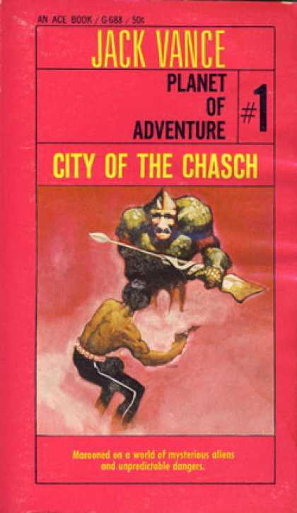 Ace Books - City of the Chasch - Jack Vance
