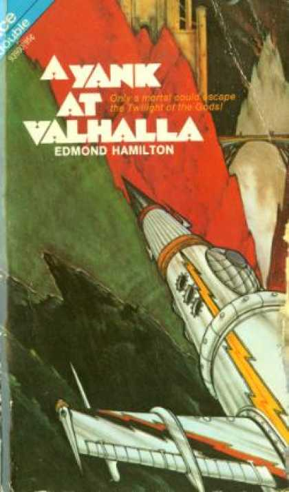 Ace Books - A Yank at Valhalla ; the Sun Destroyers Ace Double - Edmond; Ross Rocklynne Hami