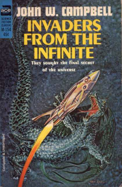 Ace Books - Invaders From the Infinite - John W. Campbell
