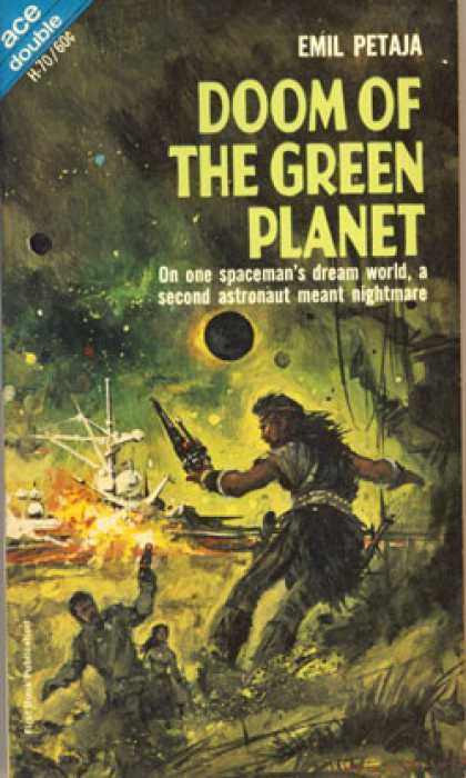 Ace Books - Star Quest / Doom of the Green Planet - Dean R. Koontz