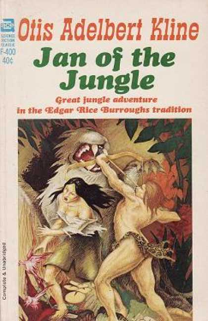Ace Books - Jan of the Jungle - Otis Adelbert Kline