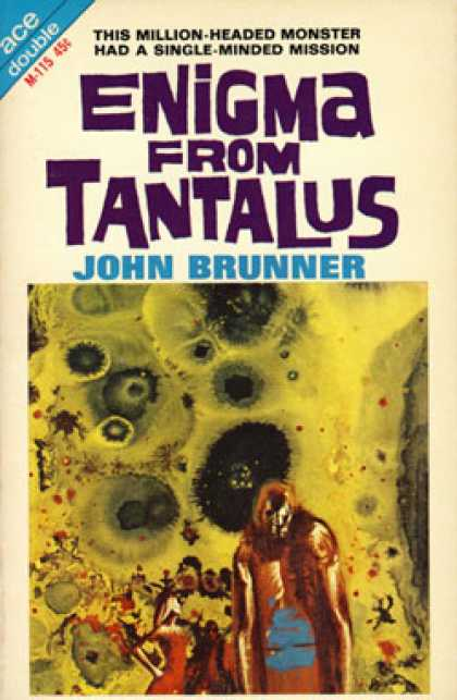 Ace Books - Enigma From Tantalus / Repairmen of Cyclops - John Brunner