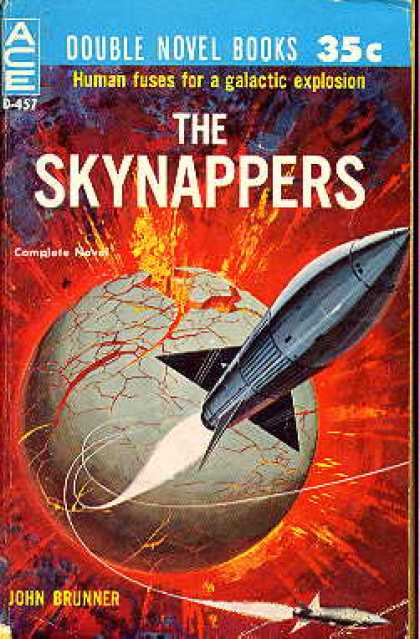 Ace Books - Vulcan's Hammer and the Skynappers - Philip K. and John Brunner Dick