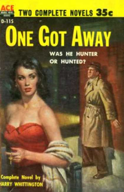 Ace Books - One Got Away - Harry Whittington